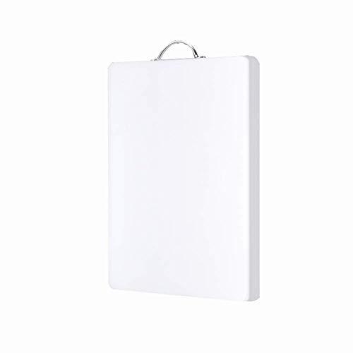 Snijplank Kleine plastic for fruit, vlees, brood, snijplank in de keuken, witte werkblad deksel met handvat A chopping board (Size : 36x28cm)