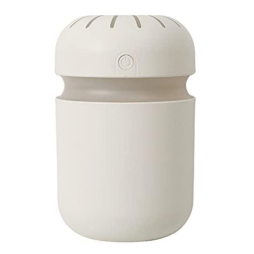 jwj Mejor humidificador Crepúsculo humidificador de aire 300 ml ultrasónico Cool Mist Aroma aire difusor de aceite romántico humidificadores de color aceites esenciales (color: amarillo)