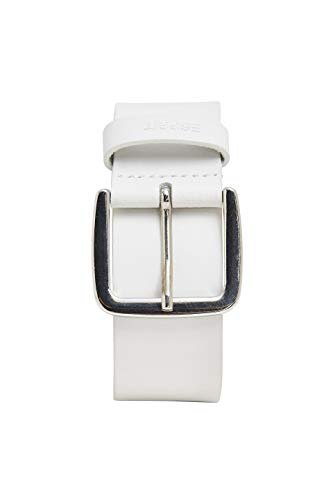 Esprit Accessoires 999ea1s803 Cinturón, Blanco (White 100), 95 (Talla del fabricante: 80) para Mujer