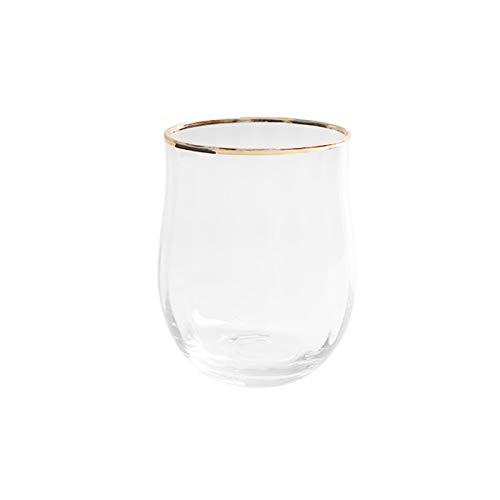 XZZFD Copas De Champán De Cristal Color Copas De Champán,Soplado A Mano Elegante Vidrio Copas De Vino para Boda,Hogar Partido Restaurante Vertical Copa De Champán-H Phnom penh