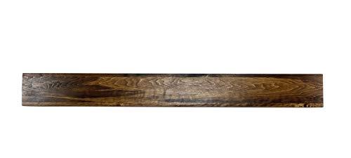 U Pick Size & Finish Rustic Wood Beam Floating Shelf Fireplace Mantel