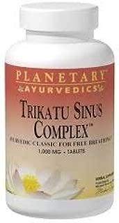 Planetary Herbals Trikatu Sinus Complex Ayurvedic, 60 Count
