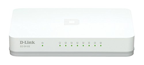 Switch Ethernet 1000 Mbps switch ethernet  Marca D-Link