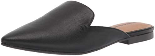 Amazon Essentials Women s Pointy Toe Mule with Mini Heel Black 9 B US product image