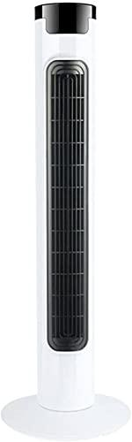 wangYUEQ Ventilador de Torre de Swing, Modo de enfriamiento de Ahorro de energía para el hogar de 3 velocidades, con un ángulo Ancho de 80 Grados sacudiendo la Cabeza, bajo Ruido y Viento Delicado