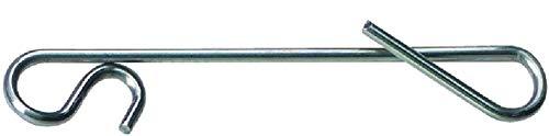 Jenzi 30 Stück Knotenlos Schnurverbinder extra stark 46 kg (3 Packungen á 10 Stück)