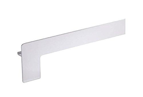 empasa Fensterbank Endstück Aluminium Klinker 50-400 mm WEISS SILBER ANTHRAZIT BRONZE
