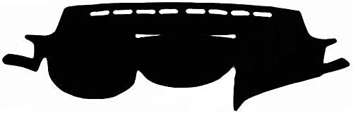 MWTTXX Fundas de Estilo de Coche para salpicadero, Alfombrilla para salpicadero, Parasol, Cubierta para salpicadero, Apto para S-ubaru Outback Legacy 2009 2010 2011 2012 2013 2014-Negro