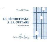 Partition : Le déchiffrage à la Guitare - Volume 1