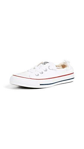 Converse Chuck Taylor All Star Shoreline White Lace-Up Sneaker - 10.5 B(M) US Women / 8.5 D(M) US Men