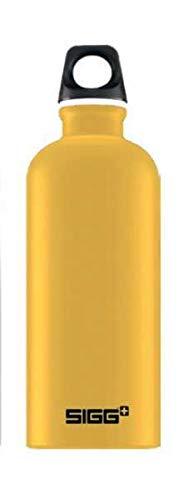 シグ(Sigg) アウトドア アルミボトル トラベラータッチ マスタード 0.6L 60197
