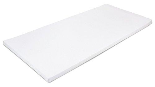 MSS 100300-200.160.4 Viscoelastische Matratzenauflage, RG50, mit Bezug, Größe 160 x 200 x 4 cm