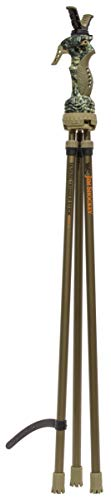 Primos Hunting 65815 Primos Trigger Stick Gen 3 Series-Trípode Alto Jim Shockey, Negro, 46.00in. x 6.00in. x 2.50in