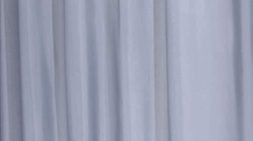 GRUND Duschvorhang ROM 180x200 cm grau