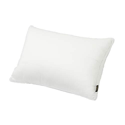 西川リビング 枕 ホテルテイスト ホワイト 43×63㎝ 高さ調節タイプ ふわふわ マシュマロ タッチ 高さ 調節 高密度 丸洗い 2433-10463