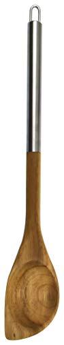 Camilla Gift 30321 - Cuchara para arroz de madera de acacia con mango de acero, cantidad: 1 unidad, color marrón