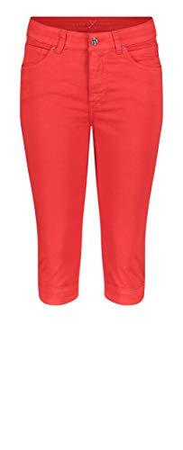 MAC Jeans Damen Hose Straight Dream Capri Cotton Super Stretch fade Out sa 34/17