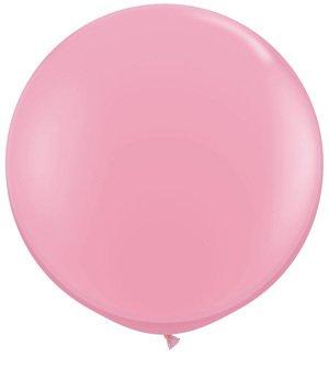 Rifco World Group- Palloni Maxi Gigante Lattice 70 Cm, Colore Rosa, RG180/06