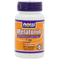 NOW Foods Melatonin Chewable Large special price 180-Lozenges Long Beach Mall 3mg