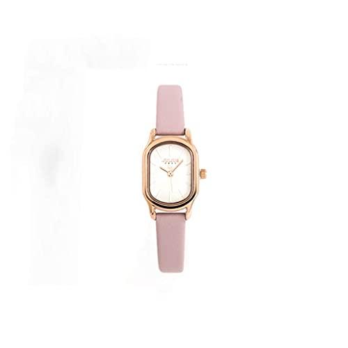 WYZQ Reloj de Cuarzo Moda para Mujer Reloj Retro Ovalado de Arte pequeño Impermeable (Color: C) (Color: D), Relojes