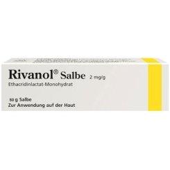 Rivanol Salbe 2mg/g Spar-Set 2x50g. Zur lokalen antiseptischen Anwendung auf der Haut.