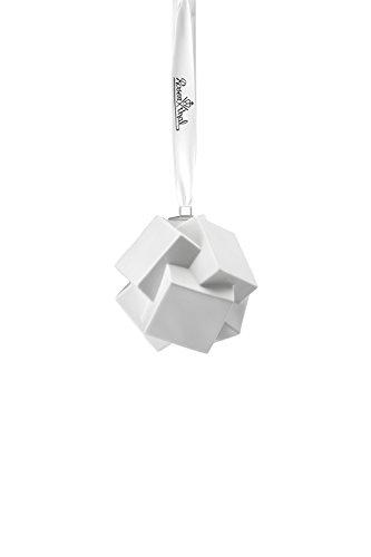 Rosenthal Porcelaine Balle Snowball Motif 8, blanc mat, 10,5 cm