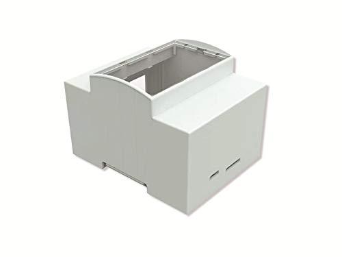 Joy-it RB-CaseP4+07 SBC-Gehäuse Passend für: Raspberry Pi zur Hutschienenmontage Weiß
