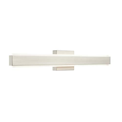 Sevano 30 inch LED Bathroom Vanity Light | Brushed Nickel Bathroom Lighting LL-WL981-1SN-30