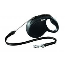 FLEXI-BOGD Classic Flexi Kabel, schwarz, 8 m, 1 Stück