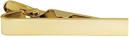 Tie Bar, 5/16in. x 2in, Gold