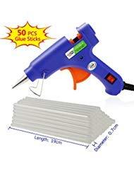 Philonext Hot Melt Glue Gun with 50 Pcs 190mm Glue Sticks