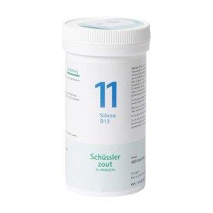 Schussler zout pfluger nr 11 Silicea D12 400 Tabletten Glutenvrij