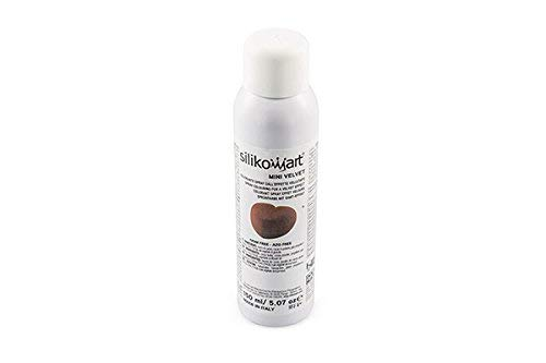 silikomart Spray Alimentare Effetto Velluto Marrone 150ml