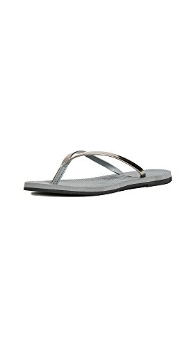 Havaianas Women's You Metallic Sandal, Steel Grey,35/36 BR (6 M US)
