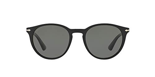Persol 0PO3152S Occhiali da Sole, Black 901458, 49 Unisex-Adulto
