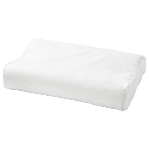IKEA ROSENSKÄRM Kopfkissenbezug für ergonomisches Kopfkissen 33x50 cm weiß
