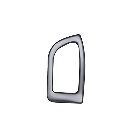HYZZ Molduras Interiores Botón De Interruptor De Maletero Cubierta De Decoración Embellecedor Interior Auto Accesorios Lentejuelas para Au-di A4 B8 2009-2016
