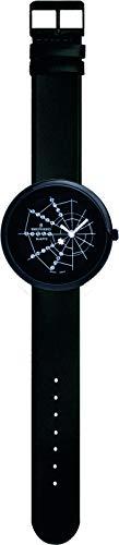 SHEPHERD 15203Spinnenuhr schwarz Damen Armbanduhr (kleine Version) 34 mm Durchmesser Quarz