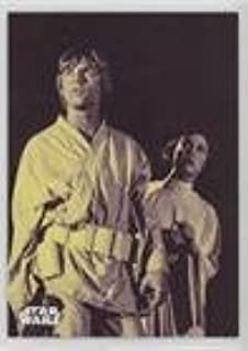 Luke Skywalker's Bold Plan #/25 (Trading Card) 2018 Topps Star Wars Black and White - [Base] - Purple #104