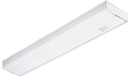 "Hardwired LED Under Cabinet Task Lighting - 16 Watt, 24"", Dimmable, CRI>90, 3000K (Warm White), Wide Body, Long Lasting Metal Base With Frost Lens"