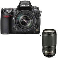Nikon D700 Digital SLR Kit with Nikon AF-S VR Zoom-NIKKOR 24-120mm f/3.5-5.6G IF-ED Lens, & 70mm - 300mm f/4-5.6G ED-IF AF-S VR (Vibration Reduction) - USA Warranty