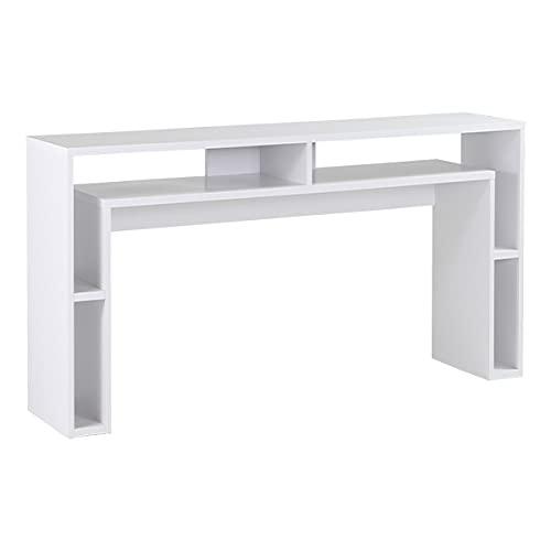 arne 高さ100cm カウンターテーブル 高さ100cm 北欧 バーカウンター 国産 モダン 完成品 収納テーブル 収納 和室 オフィス 待合室 シェルフ PICO 15025100 WH