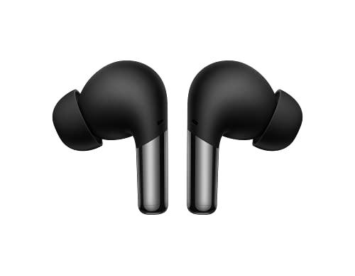 OnePlus Buds Pro – Draadloze hoofdtelefoon met tot 38 uur batterijduur en Smart Adaptive Noise Cancellation – Mat Zwart