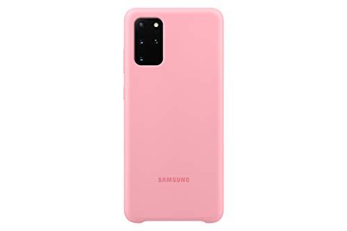 Funda para Samsung Galaxy S20+ Plus, Cubierta Trasera de Silicona - Rosa (versión de EE. UU.) (EF-PG985TPEGUS)