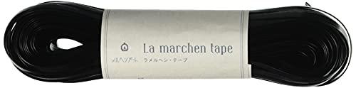 メルヘンアート ラ メルヘン・テープ 5mm 150g 約30m Col.151 フェイクレザーブラック 1玉