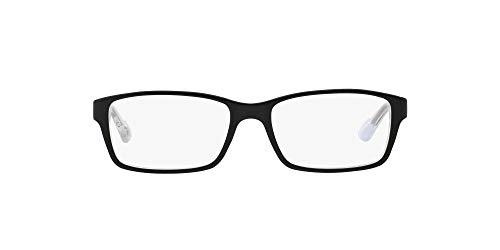 Arnette 0An7034 Monturas de gafas, Top Black On White-Crystal, 53 para Hombre