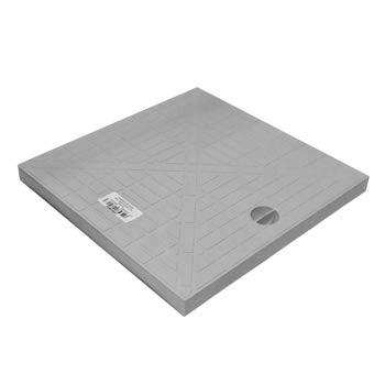 Jardibric - Couvercle de Regard de collecteur des eaux pluviales en polypropylène renforcé - pour Regard de Dimension 30 x 30 cm - COR30