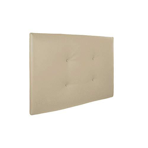Silcar Home | Cabecero Cama tapizado en Polipiel Modelo Carlo | Medidas 105cm, 115cm, 145cm o 160cm,...
