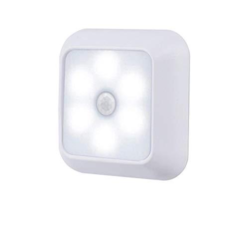 3 luces para debajo del gabinete, luces inalámbricas para debajo del gabinete, luces de armario con función de detección para cocina, librería, escaparate, luz LED