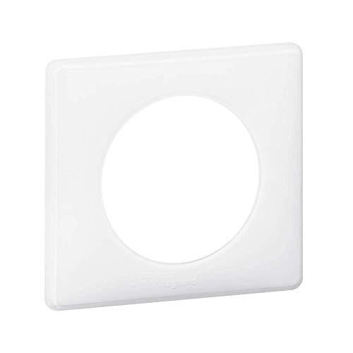 Legrand 098840 Plaque Céliane, Laqué Blanc
